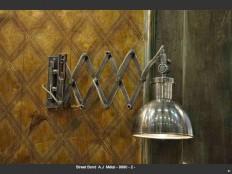 Lampe crémaillère Bond Street 9990