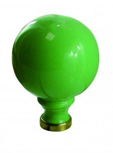 boule de rampe UNIE vert pomme