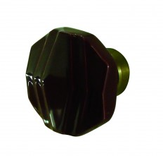 bouton de tirage ART DECO bordeaux